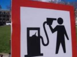 фото бензин дорожает